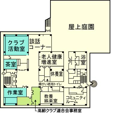 3階見取図