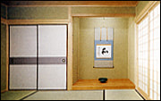 茶室の写真