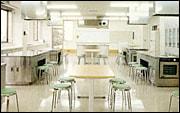 調理実習室の写真